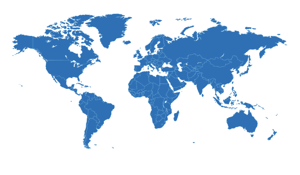 SGI-UK map of the world